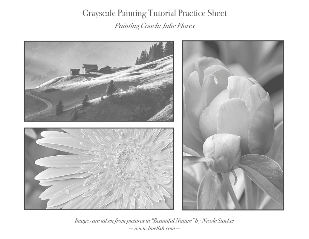 How To Paint Grayscale A Downloadable Guide Practice