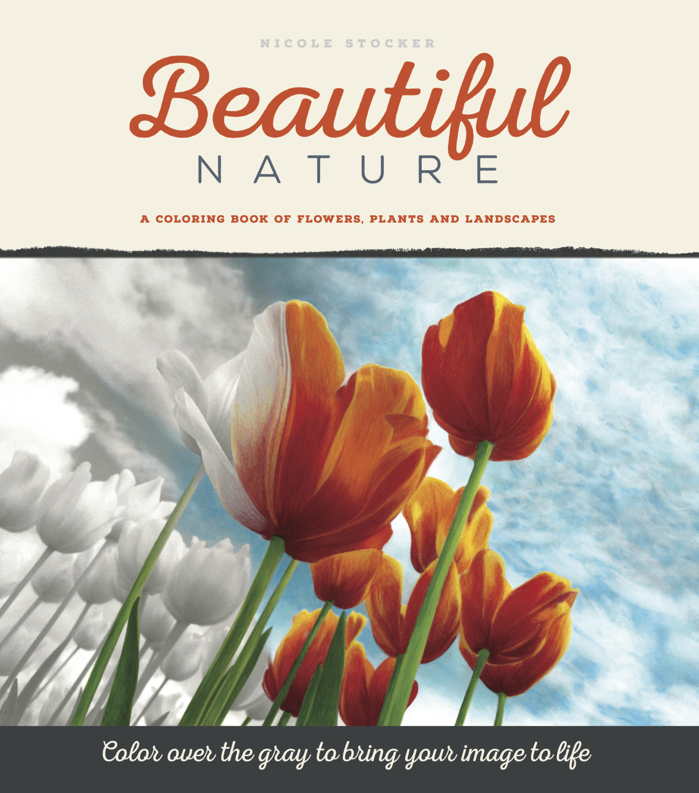 Beautiful Nature Grayscale Coloring Book Download The Complete